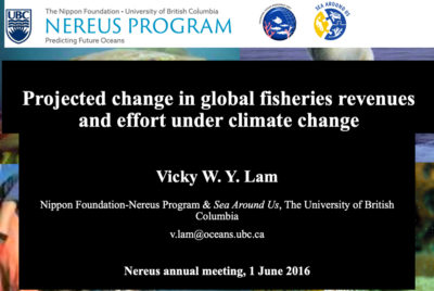 Projected Change in Global Fisheries Revenues and Effort Under Climate Change