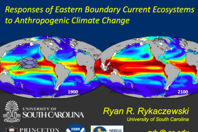 Responses of Eastern Boundary Current Ecosystems to Anthropogenic Climate Change